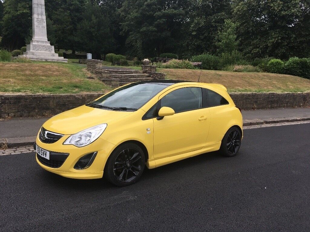 2011 vauxhall corsa 1 2 limited edition in church. Black Bedroom Furniture Sets. Home Design Ideas