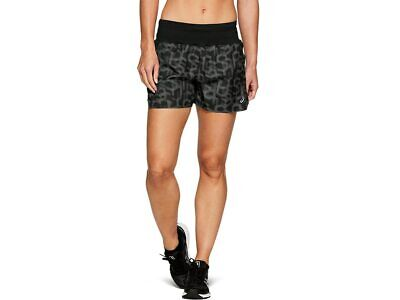 "ASICS Women's 3.5"" Short Print Running Clothes 2012A273"