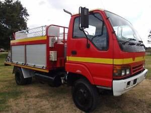 1997 Isuzu NPS 300 4x4 Traytop Fire Truck. Ex Rural Fire Service Inverell Inverell Area Preview