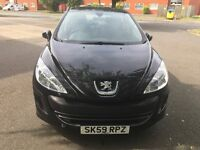 Peugeot 308 1.4 engine black One former keeper full service history