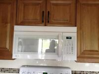 MOVING SALE FURNITURE,MICROWAVE, Bath Seat, TVw/VCR.LEATHER COAT