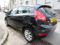 FORD FIESTA 2010 1.4TDCI ZETEC 5dr - LOW TAX - ECONOMICAL CAR - corsa clio polo focus (black) 2010