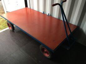 Flat Bed hand cart Trolley, Hand Truck,