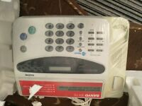 QUICK SALE ON SANYO FAX MACHINE/FACEMAIL!!