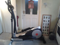 v-max cross trainer,mains powered