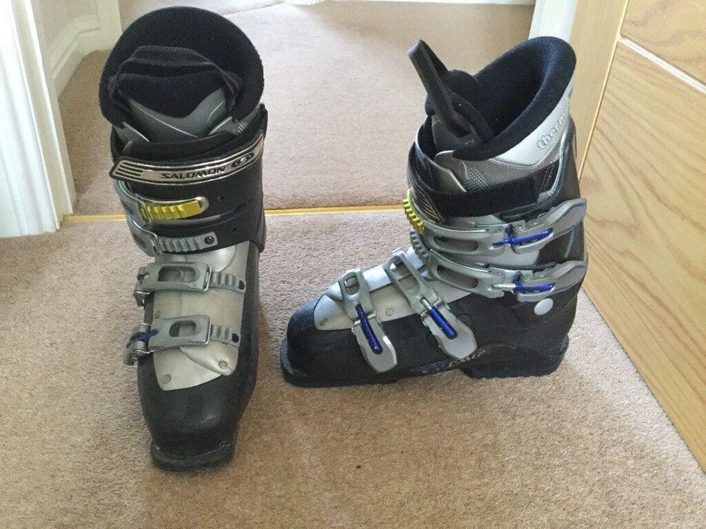 6f38eafebc47 ski boots and boot bag - Salomon