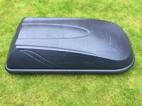 Halfords 250L Roof Box Grey for sale