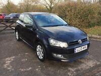 2013 VW POLO MATCH EDITION 1.2 BLACK EXCELLENT CONDITION CAT C 29000 MILES ONLY