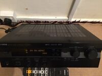 YAMAHA RX-V396RDS HOME CINEMA RECEIVER, FULLY TESTED IN EXCELLENT WORKING CONDITION, HARDLY USED.