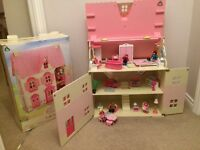 ELC Dolls house Rosebud cottage