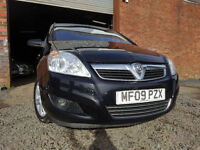 09 VAUXHALL ZAFIRA ELITE 1.8 7*SEATER*,MOT FEB 018,2 OWNERS FROM NEW,PART HISTORY,VERY RELIABLE CAR
