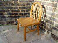 Wooden Chair Retro Furniture