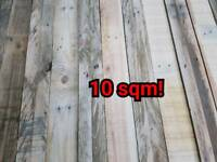 Wall cladding timber