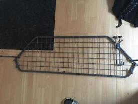 Boot rack, divider, guard for dogs
