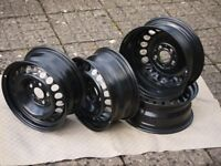 Mercedes-Benz C Class (W202) steel wheels - set of 4 in extremely good condition