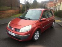 RENAULT SCENIC 1.6 PETROL,9 MONTHS MOT,LOW MILEAGE,1 OWNER FROM NEW.