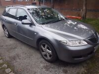 Mazda 6. 2l. Diesel estate. Good condition for age.