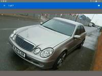 2004 MERCEDES E CLASS W211 SILVER E220 CDI AMG ALLOYS DOOR LIGHT BOOTLID GEARBOX DASHBOARD BONNET
