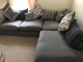 Cosy corner sofa for sale