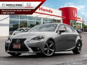 2014 Lexus IS 350 Clean Carfax|Luxury Package|Nav|Vented Seats|