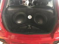 Jl audio car stereo audio subs