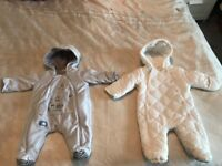 Pramsuits for babies aged 0-3 month old