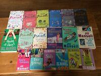 Job Lot x18 Jill Mansell books