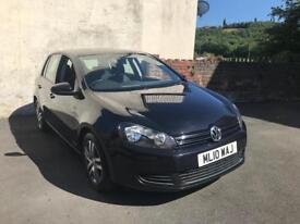 2010 VW GOLF 1.6 TDI SE FACELIFT GOOD SPEC FSH IMMACULATE CONDITION TWO OWNERS