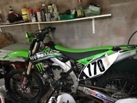 Kawasaki 450 2012 reg