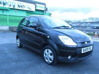 2009 Chevrolet Matiz 1.0 Litre Manual Hatchback Mot 12 month low mileage only 69574,