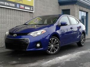 2016 Toyota Corolla S*CAMERA*BLUETOOTH*SIEGES CHAUFFANTS