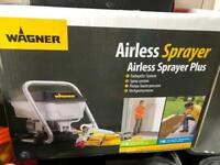 Wagner airless paint sprayer.