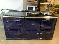 AGA GAS OVEN WITH ELECTRIC FREESTANDING COMPANION