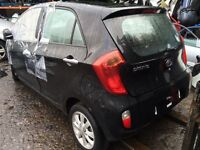 Kia Picanto 2 2012 1.2 Petrol Auto For Breaking - CALL NOW!!!