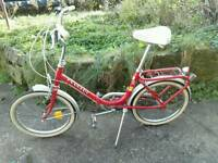 Folding Bike excellent condition, free accessories