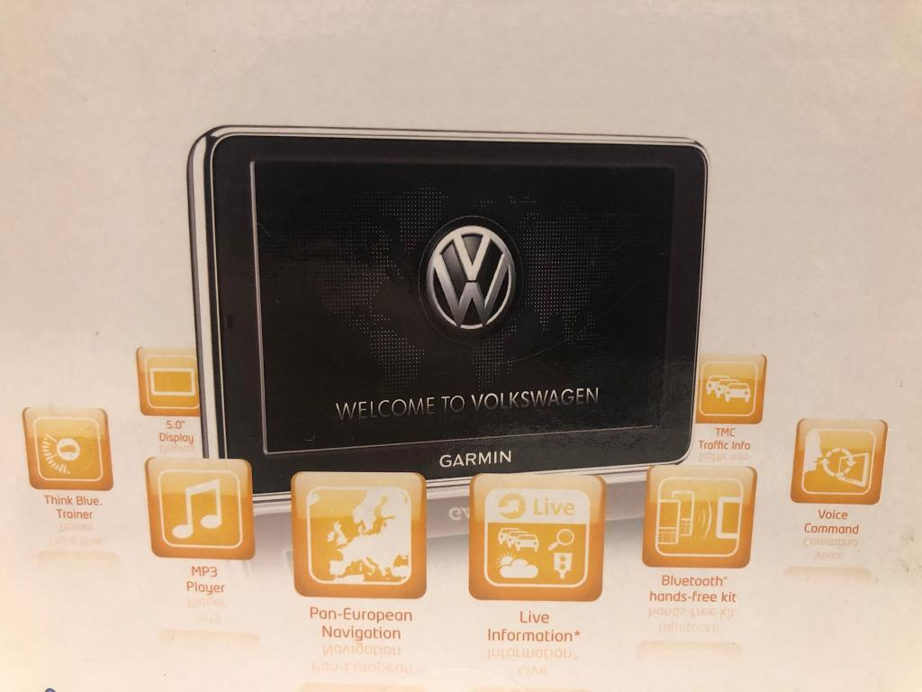 VW UP Garmin Sat Nav, Volkswagen UP! maps + more portable navigation and  Cradle | in Eastbourne, East Sussex | Gumtree