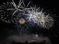 2 tickets for edinburgh international festival fireworks with priority entrance