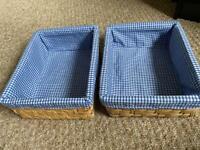 Set of 2 Storage basket