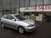 2006 06 SEAT IBIZA 1.4 SPORT 3d 74 BHP **** GUARANTEED FINANCE **** PART EX WELCOME