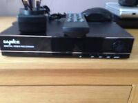 "Brand new and boxed four channel hbmi dvr""nvr with branded tosh hard drive 1tbt"