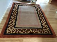 Large Vibrant South African Rug