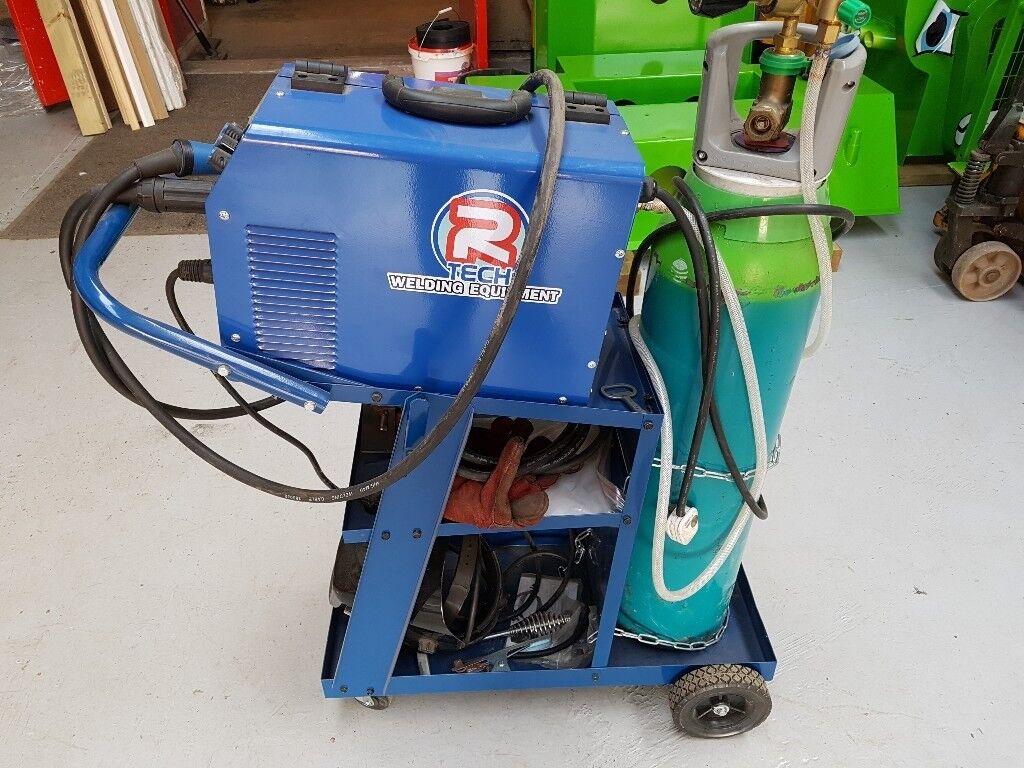 Mig welder for sale. Rtech Mig180, trolley, wire, electrode holder ...