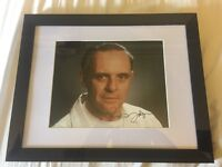 Large collection of signed memorabilia framed photos