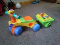 Tomy Toddle N Ride Walker - Used but in Good Condition