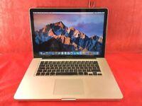 Macbook Pro 15.4inch a1286 2.3ghz intel core i7 8GB RAM 1TB 2011 +WARRANTY, NO OFFERS L595
