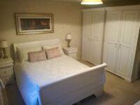 Full set of mahogany bedroom furniture