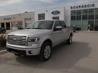 2013 Ford F-150 Platinum 4X4 700A PECAN LEATHER