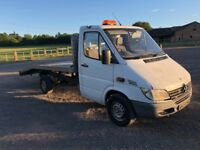 2002 mercedes sprinter 208 cdi recovery for sales