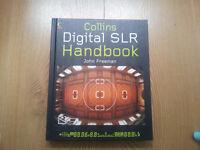 Collins digital SLR handbook by John Freeman in as new condition.