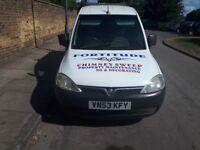 53 reg Vauxhall combo diesel drives well quick sale cheap va